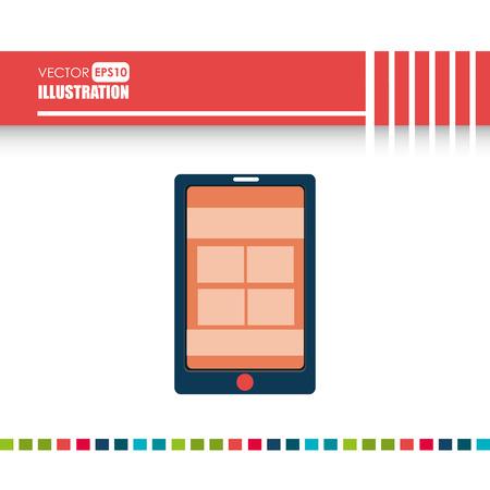 technology: Technology Icon design Illustration