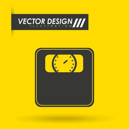 scale icon: scale icon design