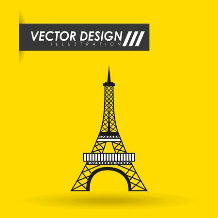 monument: European monument design, vector illustration  graphic Illustration