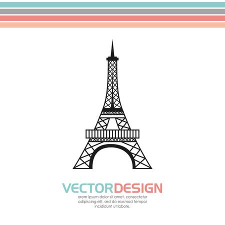 monument: European monument design, vector illustration graphic