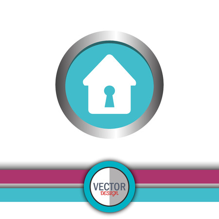 guard house: security system design, vector illustration  graphic