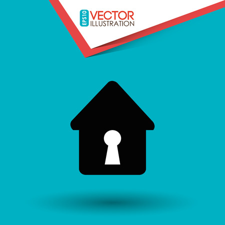 guard house: security system design, vector illustration eps10 graphic Illustration