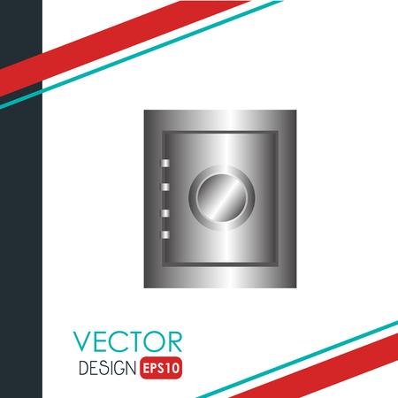 guard box: security system design, vector illustration eps10 graphic Illustration