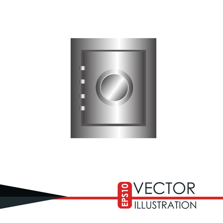 guard box: security system design, vector illustration eps10 graphic Illustration