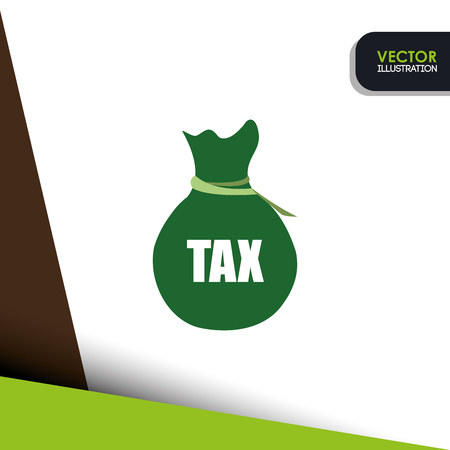 government services: tax time design, vector illustration eps10 graphic Illustration