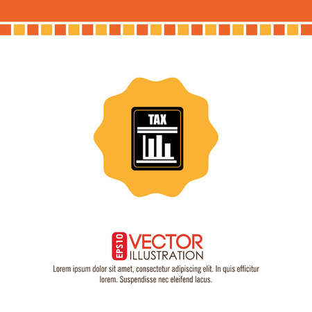 irs: tax time  design, vector illustration eps10 graphic