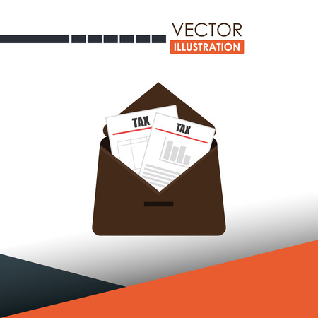 government services: tax time  design, vector illustration eps10 graphic