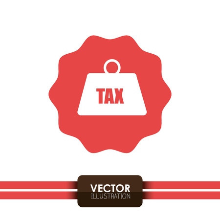 tax time: tax time  design, vector illustration eps10 graphic
