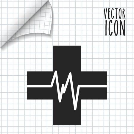 cros: medical icon design, vector illustration eps10 graphic Illustration