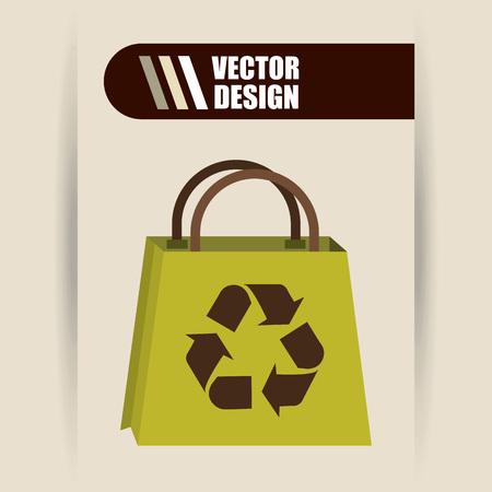 energy market: eco friendly design, vector illustration eps10 graphic Illustration