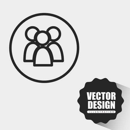 user icon: user profile design, vector illustration eps10 graphic