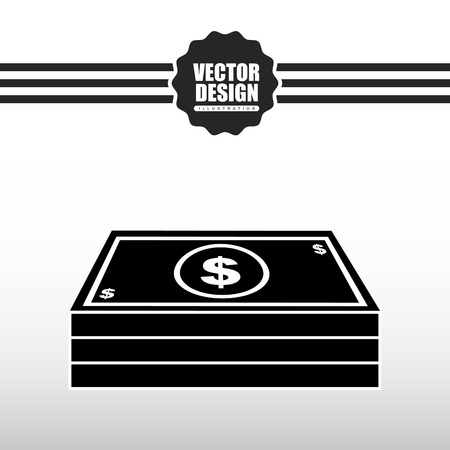 bill of exchange: money icon design, vector illustration eps10 graphic Illustration
