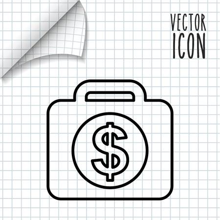 incomes: money icon design, vector illustration eps10 graphic Illustration