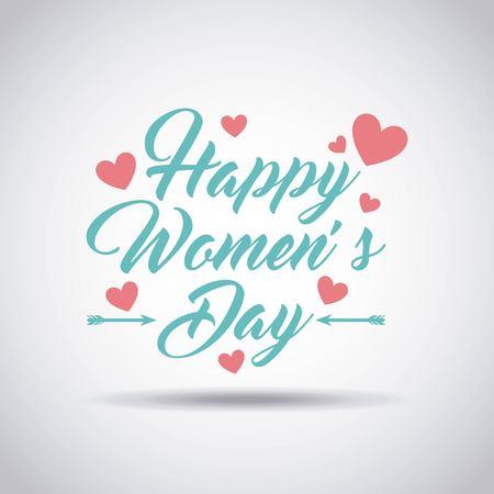 Femmes heureuses conception de jour, illustration vectorielle Banque d'images - 52901151