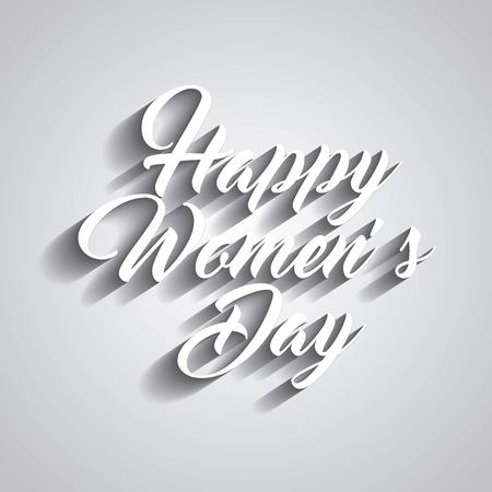 womens: happy womens day design, vector illustration