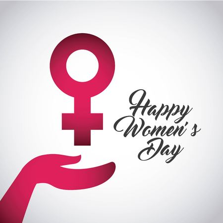 womens: happy womens day design