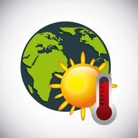 termometer: weather concept design, vector illustration