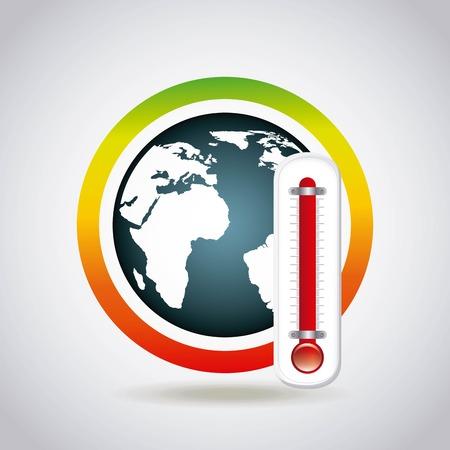 milieuvriendelijk ontwerp, vector illustratie Stock Illustratie