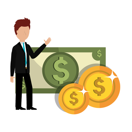 profitable growth design, vector illustration graphic Illustration
