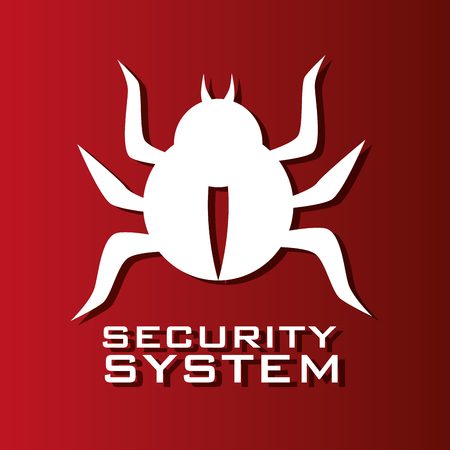 security system design, vector illustration eps10 graphic Illustration
