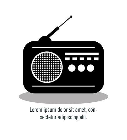 antena: Communication icon design, vector illustration eps10 graphic