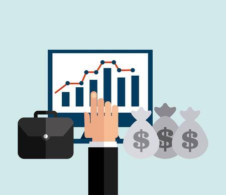 obligations: economic obligations design, vector illustration eps10 graphic Illustration