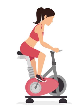 spinning: fitness lifestyle  design, vector illustration eps10 graphic