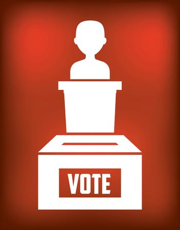 nomination: government elections design, vector illustration eps10 graphic