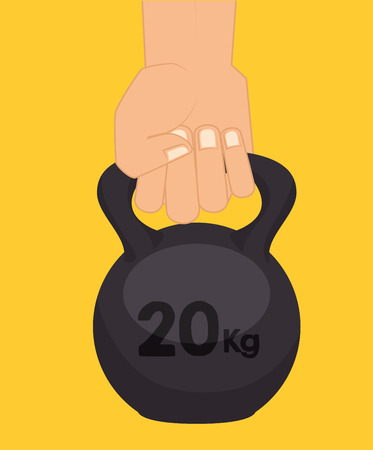 trainer device: fitness lifestyle  design, vector illustration eps10 graphic