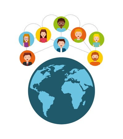 comunity: social media design, vector illustration eps10 graphic