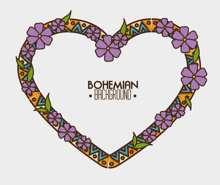 bohemian bacground design, vector illustration eps10 graphic