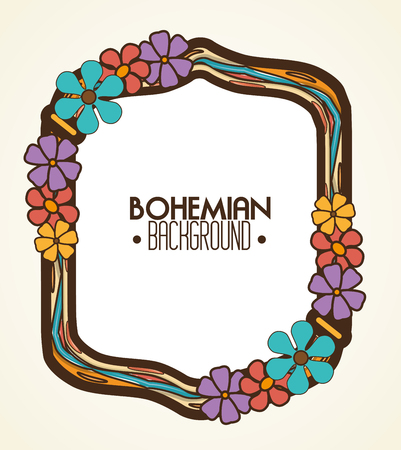 bacground: bohemian bacground design, vector illustration eps10 graphic