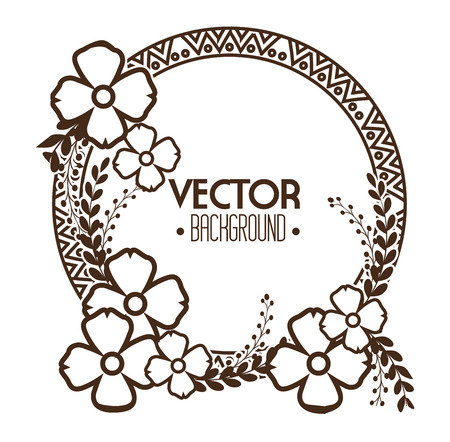 bohemian: bohemian bacground design, vector illustration eps10 graphic