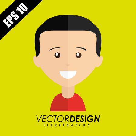 default: user profile design, vector illustration eps10 graphic