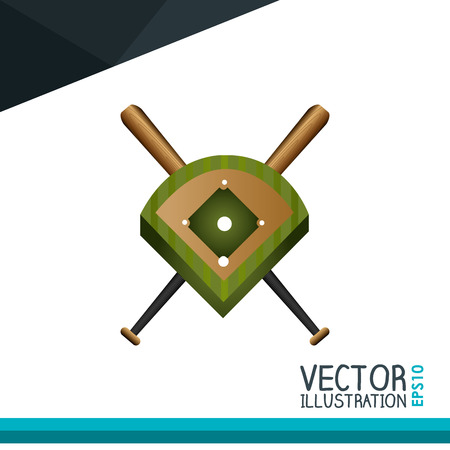 baseball icon design, vector illustration eps10 graphic