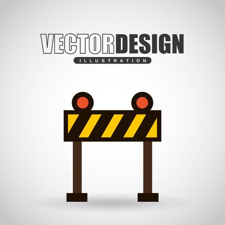 security lights: construction icon design, vector illustration eps10 graphic Illustration
