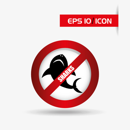 atack: shark icon  design, vector illustration eps10 graphic