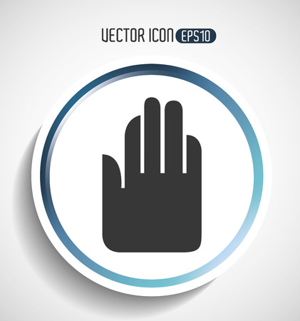 service provider: providing hands design, vector illustration eps10 graphic