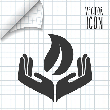 provide: providing hands design, vector illustration eps10 graphic