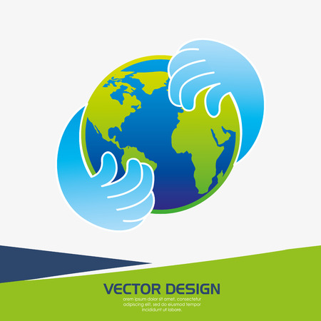 providing: providing hands design, vector illustration eps10 graphic