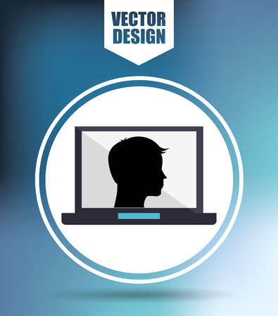 hardware: computer hardware design, vector illustration eps10 graphic