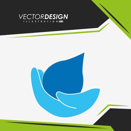 care providers: providing hands design, vector illustration eps10 graphic