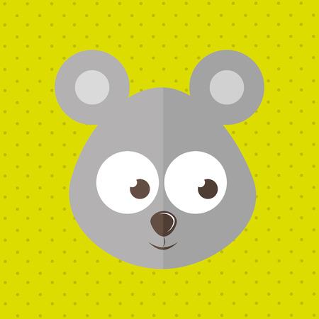 zoo amphibian: cute animal design, vector illustration eps10 graphic