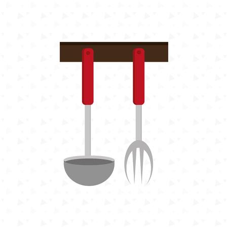 utencils: kitchen utencils design, vector illustration  graphic Illustration
