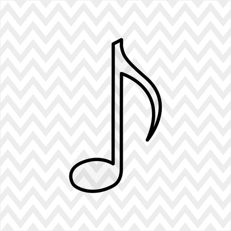 key signature: musical icon design, vector illustration eps10 graphic