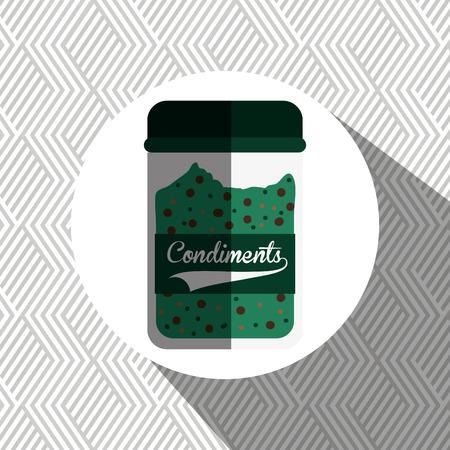 condiments: condiments icon design, vector illustration   graphic