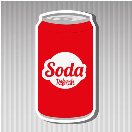 lata de refresco: de sodio puede dise�ar, ejemplo gr�fico del vector