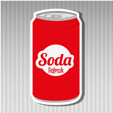 soda can: soda can design, vector illustration   graphic Illustration