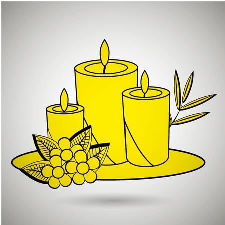 relax garden: spa icon design, vector illustration   graphic Illustration
