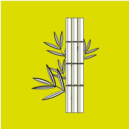 bamboo therapy: spa icon design, vector illustration   graphic Illustration